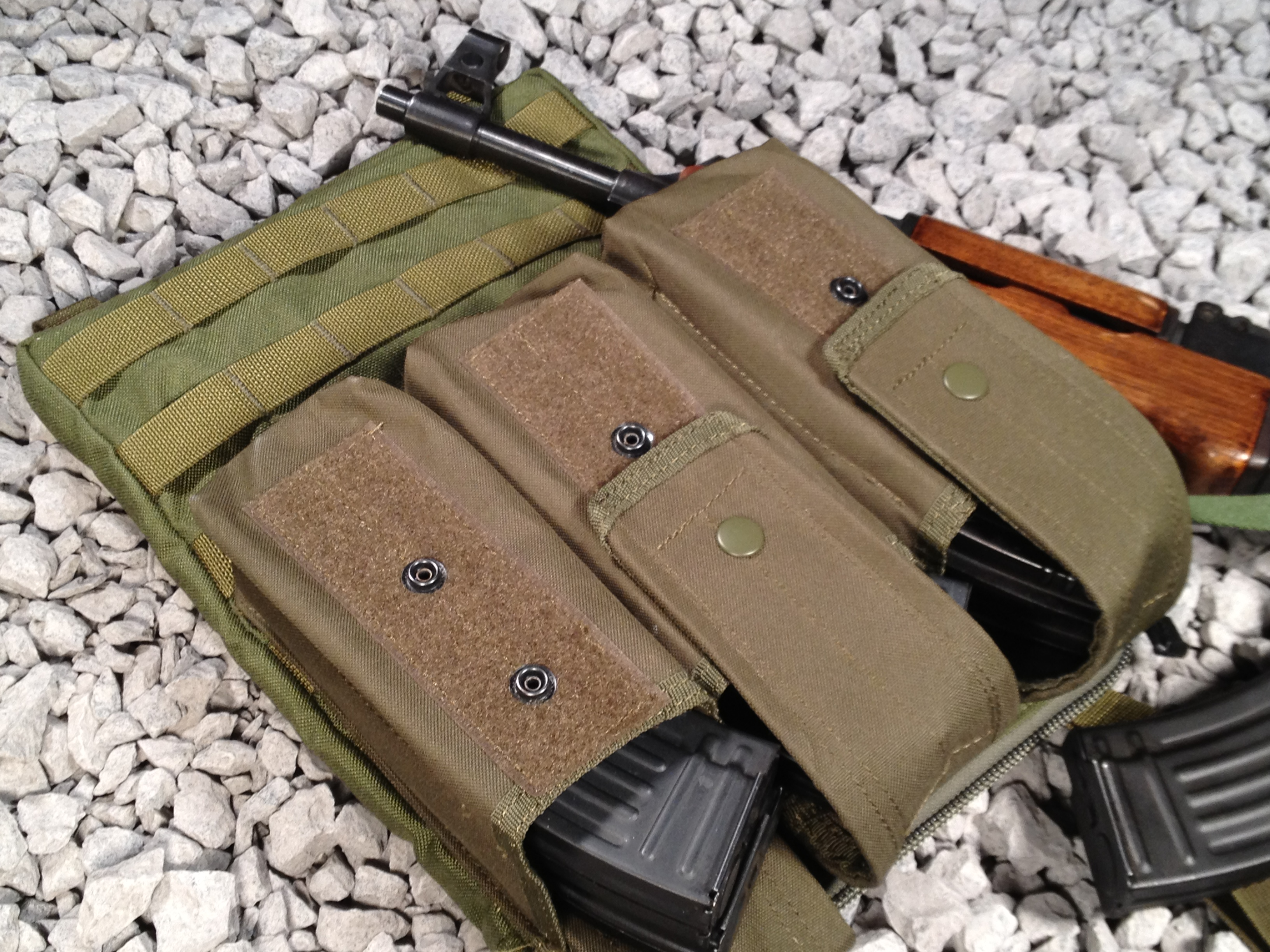 The MOLLE Panel Bandolier